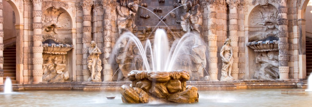 The Bath Of The Nymphs In The Zwinger Of Dresden